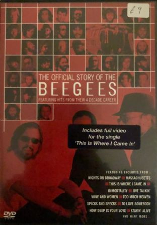 Beegees (The) - The Official Story of The Beegees: Featuring  Hits From Their 4 Decade Career (DVD)